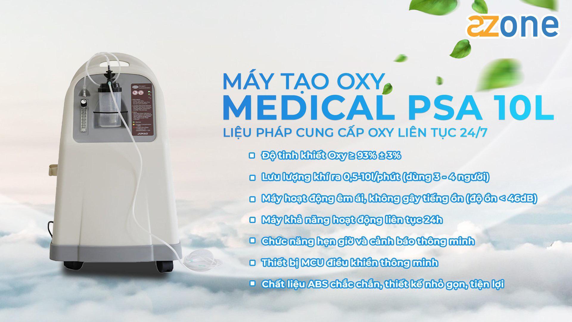 Hướng dẫ sử dụng máy Oxy Medical PSA