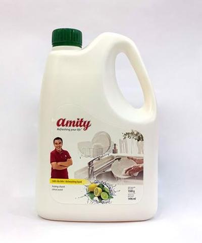 Nước rửa chén Amity hương chanh 1.5kg