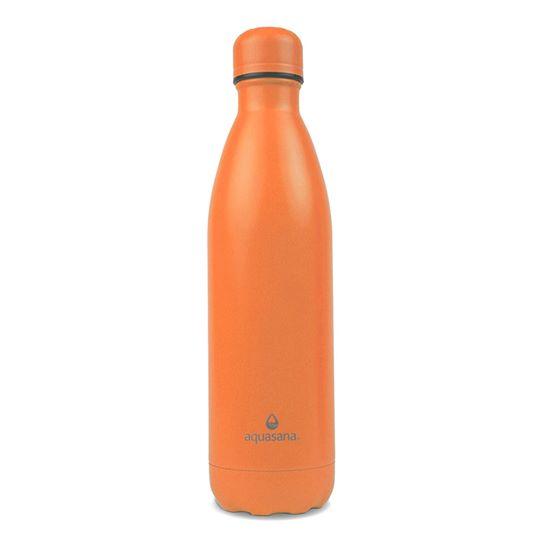 Bình nước giữ nhiệt 2 lớp 750ml (màu cam) - Aquasana USA - Made in USA