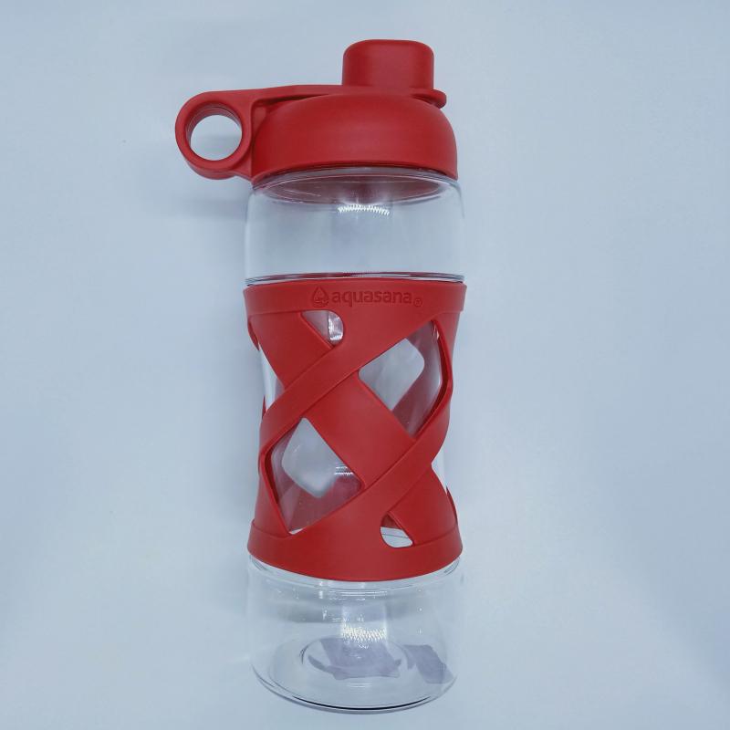 Bình đựng nước cá nhân (không kèm lõi lọc) màu Đỏ - Aquasana USA - Made in USA
