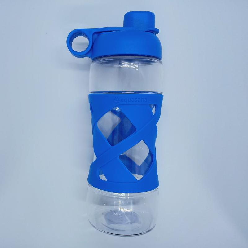 Bình đựng nước cá nhân (không kèm lõi lọc) màu Xanh - Aquasana USA - Made in USA