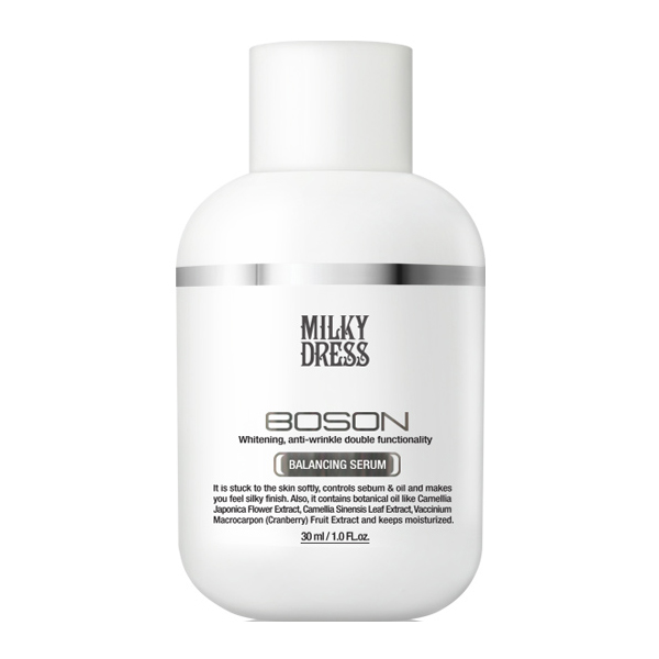 Tinh chất kiểm soát dầu và làm sáng da (30ml) Milky Dress