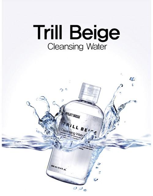 NƯỚC TẨY TRANG DÀNH CHO MẶT, MẮT, MÔI MILKY DRESS TRILLBEICE CLEANSING WATER ( 250 ml) DSMWBM32