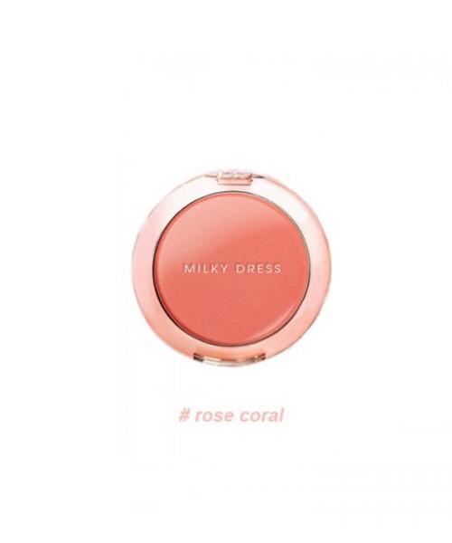 PHẤN MÁ HỒNG MILKY DRESS BARBIE MAKE BLURER POP CEEK (ROSE CORAL) DSMWBM434