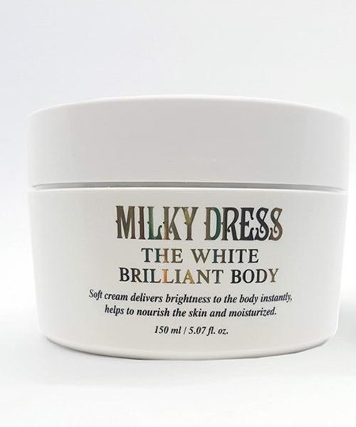 KEM DƯỠNG THỂ MILKY DRESS THE WHITE BRILLIANT BODY