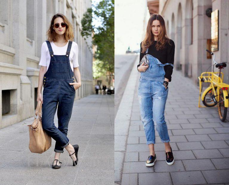 Chào Hè với phong cách thời trang quần yếm jean