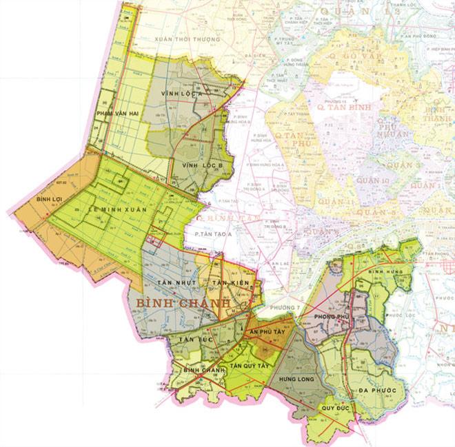Huyện Bình Chánh: Hoàn thiện hạ tầng thu hút nhà đầu tư